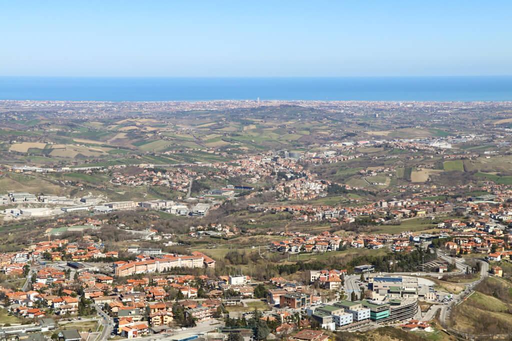 Ausblick San Marino