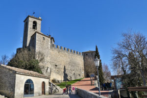 Torre Guaita am Monte Titano in San Marino