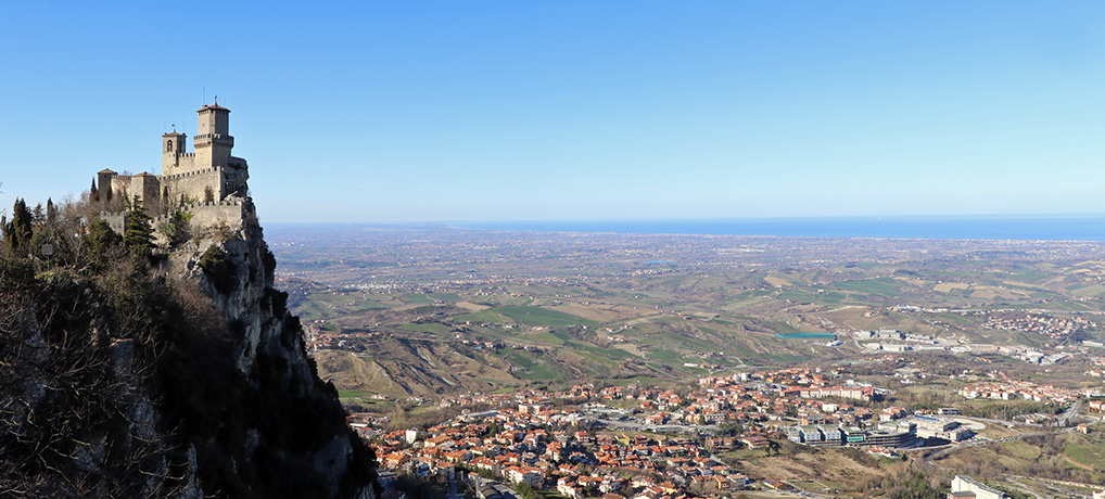 Monte Titano in San Marino