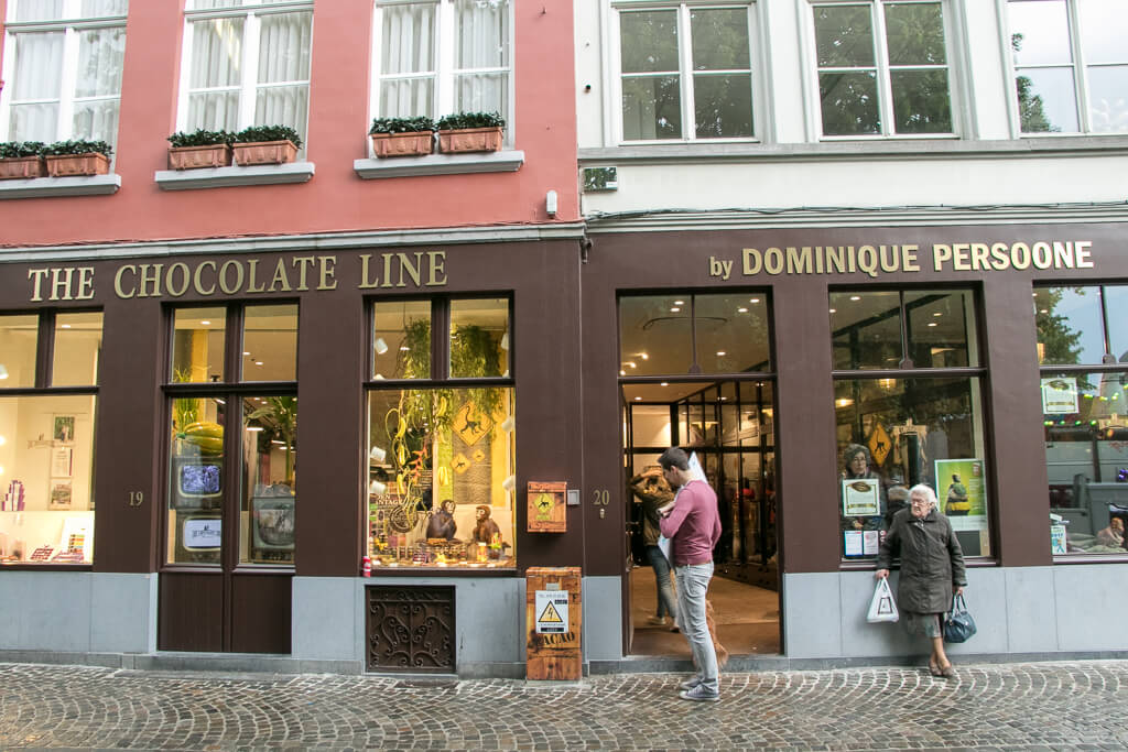 The Chocolate Line Brügge