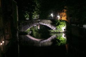 Nachtaufnahme Brügge
