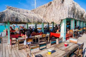 Palm Beach, Bugaloe Pier - photo credit: Aruba Tourism Authority