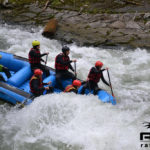 Rafting Action im Gesäuse