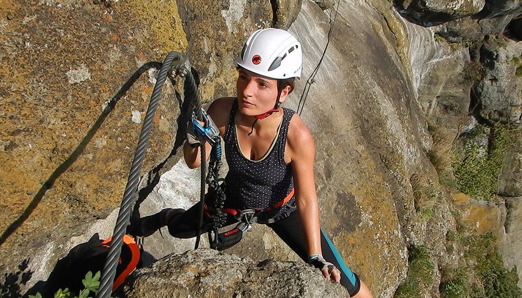 Leopold-Klettersteig auf die Riegersburg