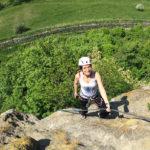 Cori am Leopold-Klettersteig in Riegersburg