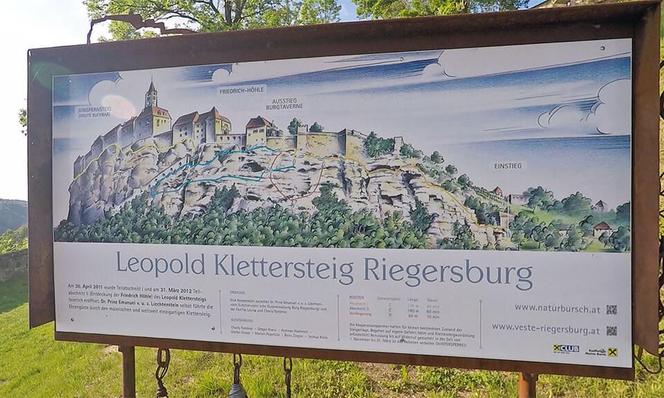 Klettersteig Riegersburg : Leopold klettersteig riegersburg mit video travel