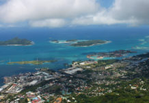 Wandern auf Mahé - Blick vom Gipfel