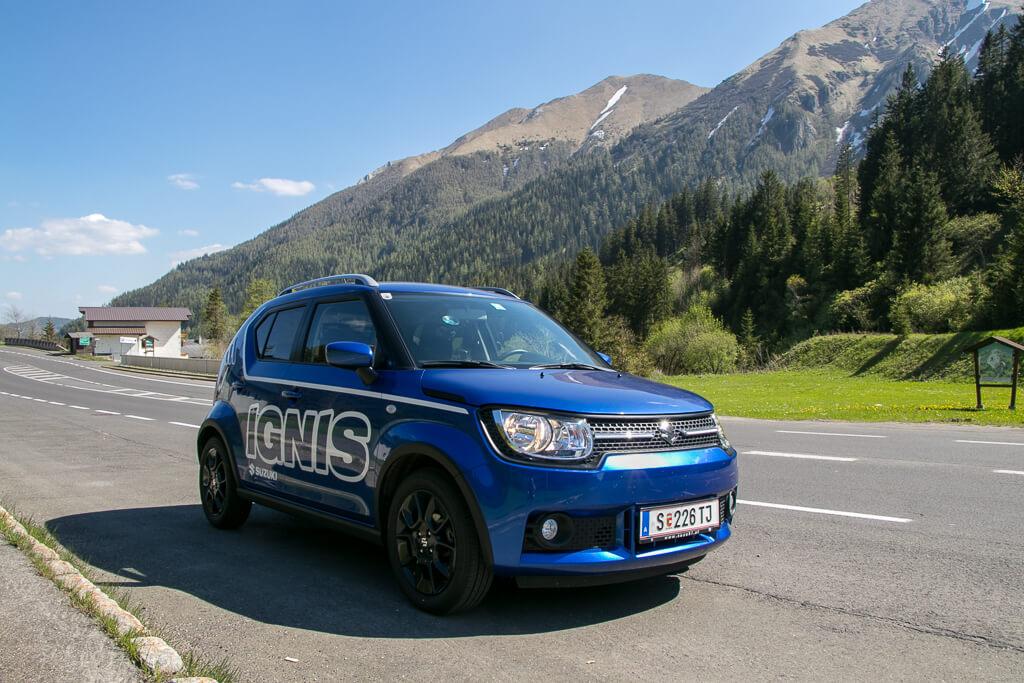Roadtrip mit Suzuki Ignis