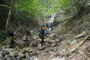 Canyoning Tour in der Erbsattel-Schlucht