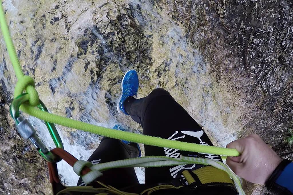 Abseilen Canyoning Tour im Gesäuse
