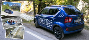 Outdoor-Abenteuer im Gesäuse mit dem neuen Suzuki Ignis