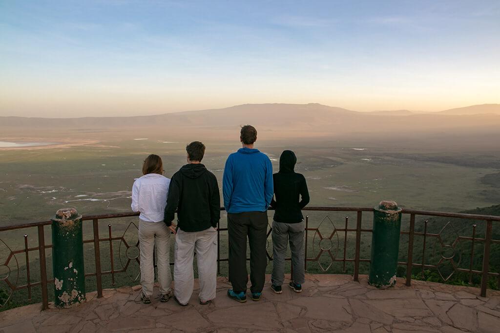 Aussicht über den Ngorongoro Krater