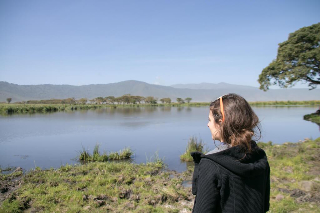 Hippopool im Ngorongoro Krater