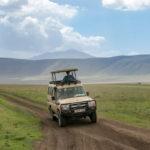 Safariauto im Ngorongoro Krater