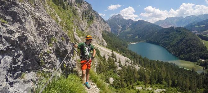 [7ways2travel] Leopoldsteinersee: Der schönste Bergsee für Klettersteig-Fans