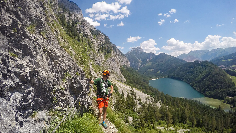 Klettersteig Eisenerz : Klettersteige um eisenerz sektion krefeld des dav