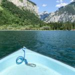 Boot am Leopoldsteinersee