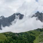Hoher Dachstein in den Wolken