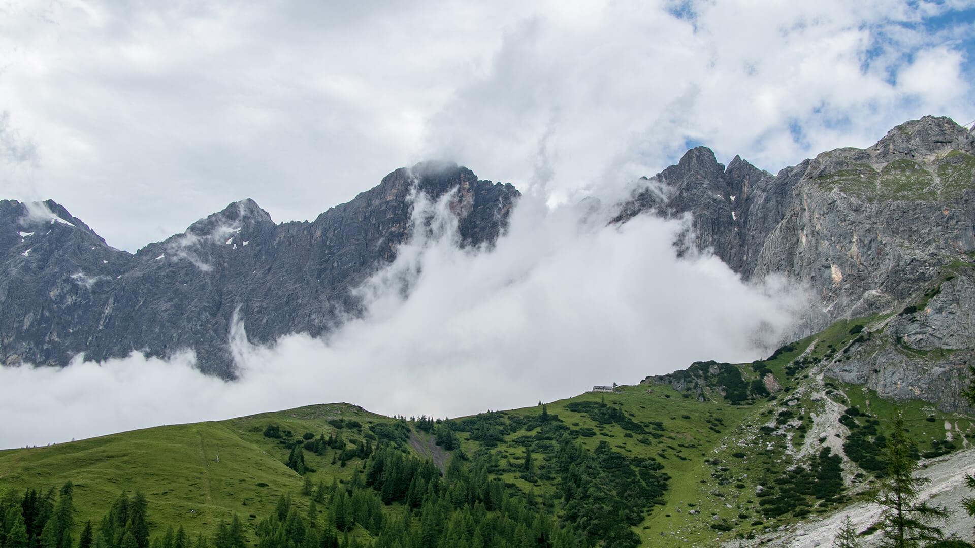 Klettersteig Dachstein : Anna erzherzog johann dachstein drei klettersteige führen auf