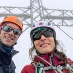 Gipfelkreuz-Selfie am Hohen Dachstein