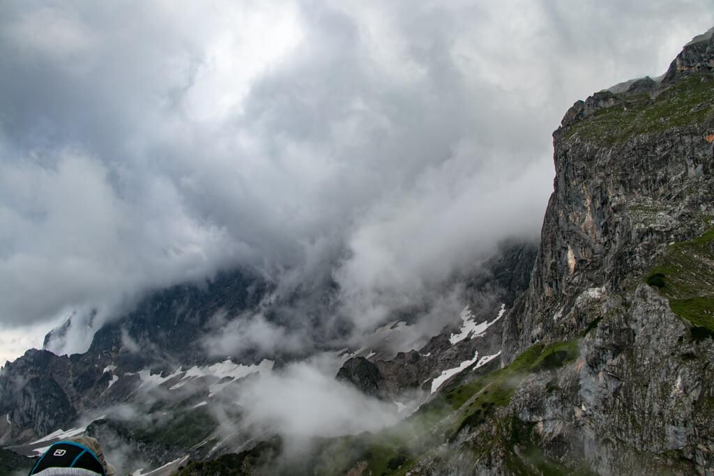 Dachstein Gletscherbahn Panoramagondel Ausblick