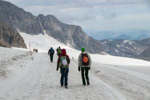 Zustieg Hoher Dachstein über Hallstätter Gletscher