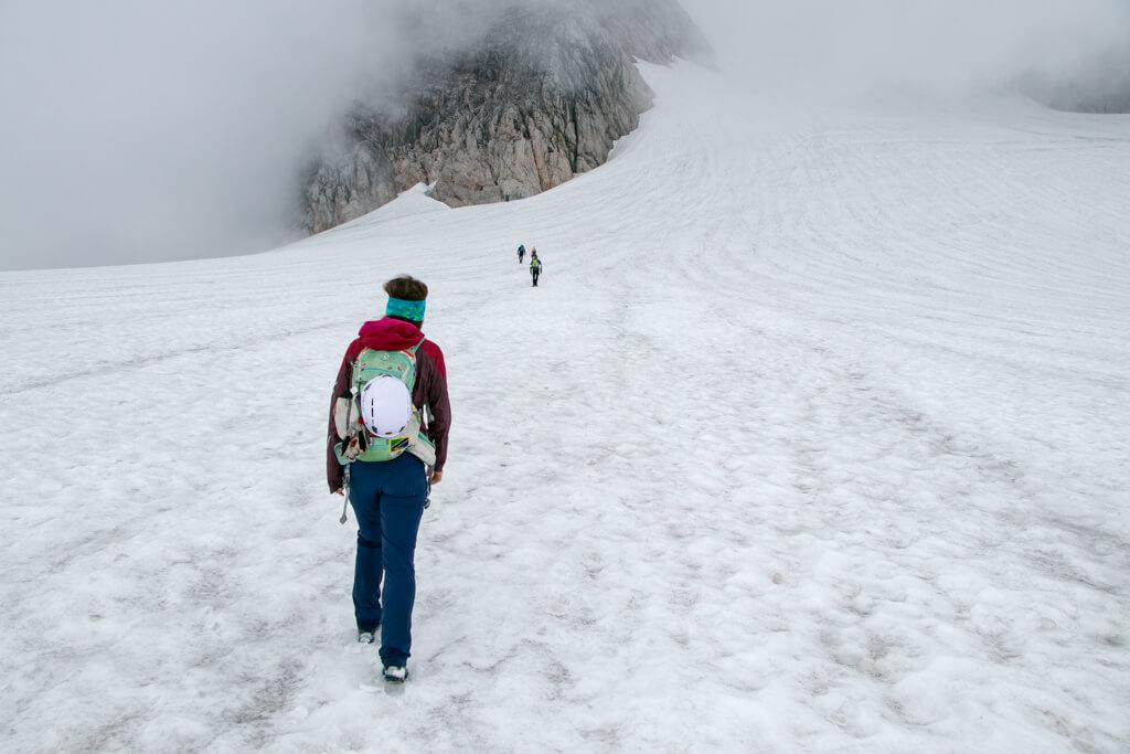 Schulteranstieg Hoher Dachstein