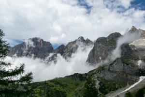 Hoher Dachstein Wolkenschwaden