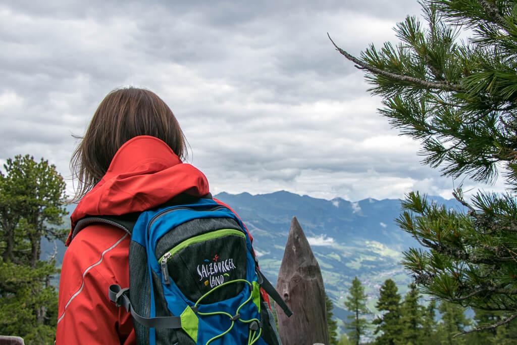 Wandern im Salzburger Land am Graukogel