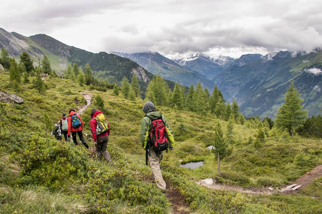 Wandern am Graukogel