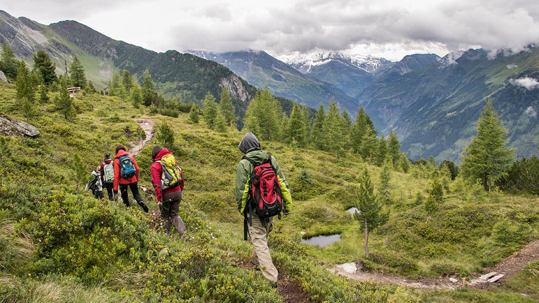 Wandern am Zirbenweg über Bad Gastein