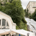 Kraftwerk-Café vor dem Gasteiner Wasserfall