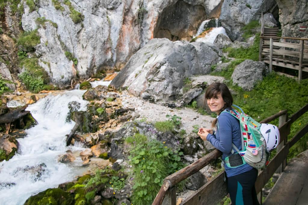 Klettersteig Ramsau : Silberkarklamm: wildes wasser und der hias klettersteig bei ramsau