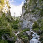 Silberkarklamm Zustieg zum Hias-Klettersteig