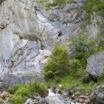 Einstieg Silberkarklamm Hias-Klettersteig