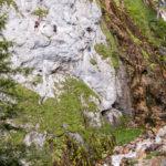 Silberkarklamm Hias und Rosina Klettersteig
