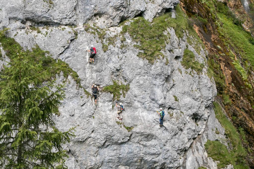 Silberkarklamm Rosina Klettersteig