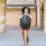 Prisca mit dem Grazer Stadtkern