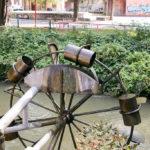 Mühlenrad im Grazer Volksgarten
