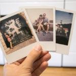 Polaroid Fotos vom Instant Tours Photo-Walk in Graz
