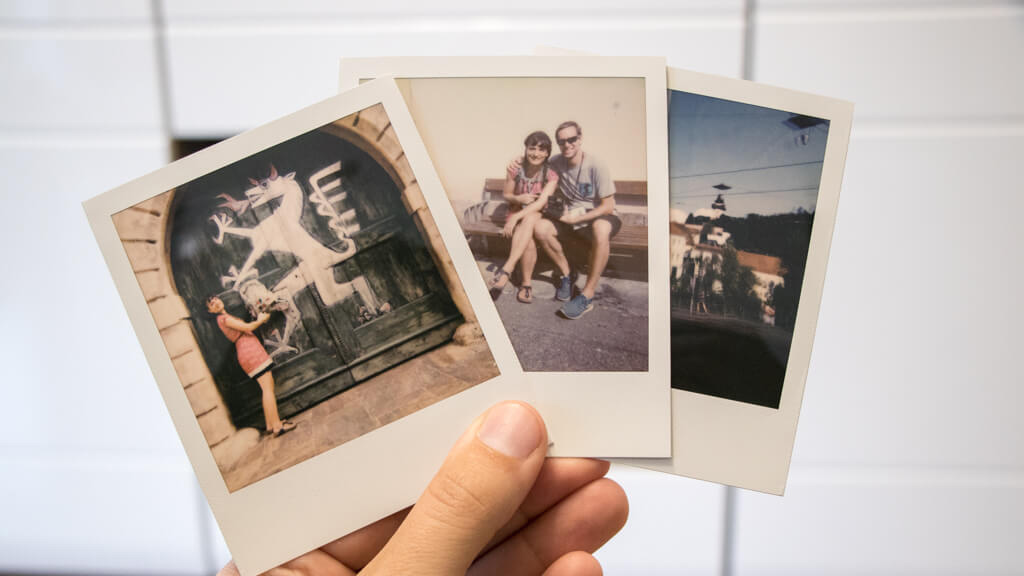 Polaroid Foto-Tour Graz
