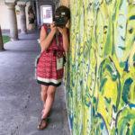 Coris erstes Polaroid-Foto auf der Instant Tour durch Graz