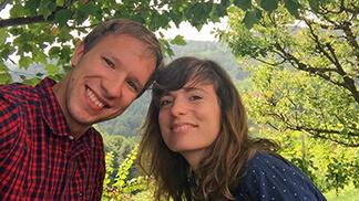 Corinna Donnerer und Florian Figl von Travel Pins