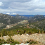 Trail Ridge Road Aussicht