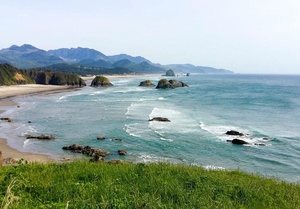 Ecola State Park an der wilden Pazifikküste Oregons