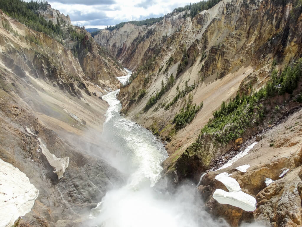 Yellowstone Nationalpark Morning Glory