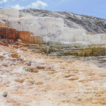 Mammoth Hot Springs im Yellowstone Nationalpark