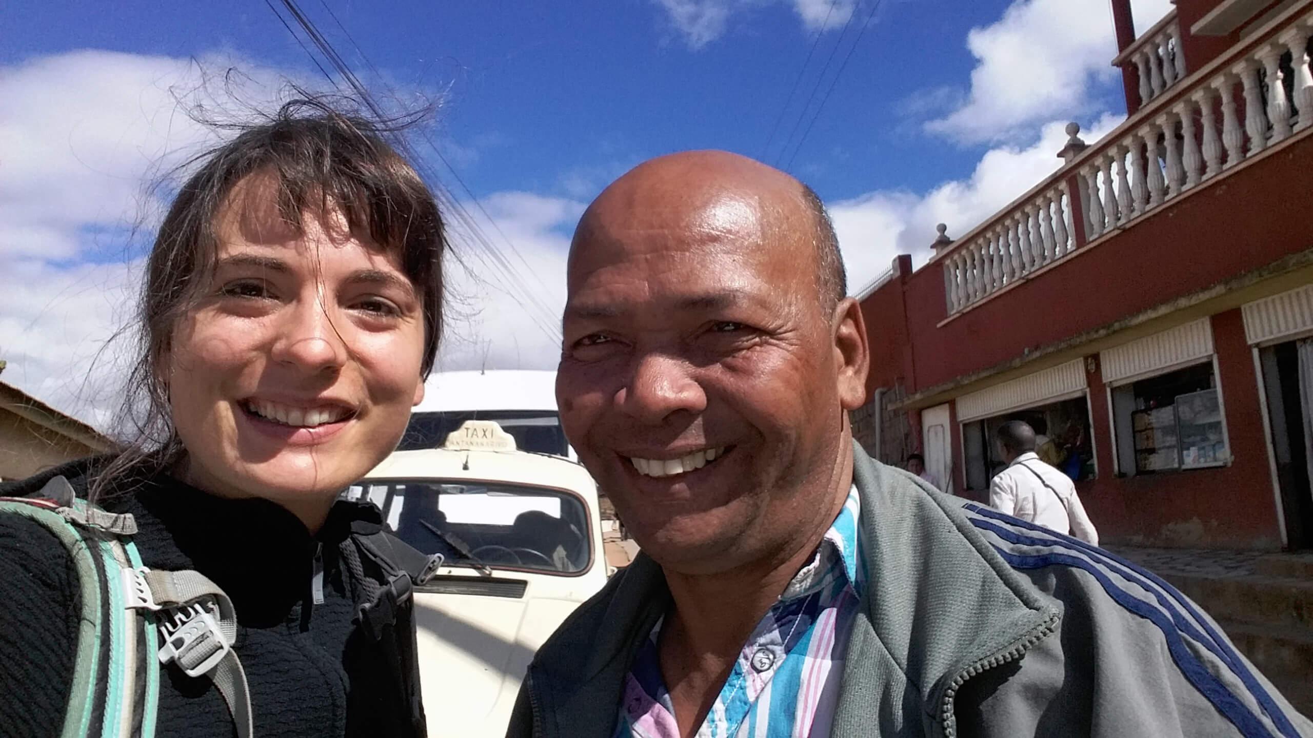 Taxifahrer Antananarivo