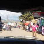 Madagaskar Taxi Straßenmarkt