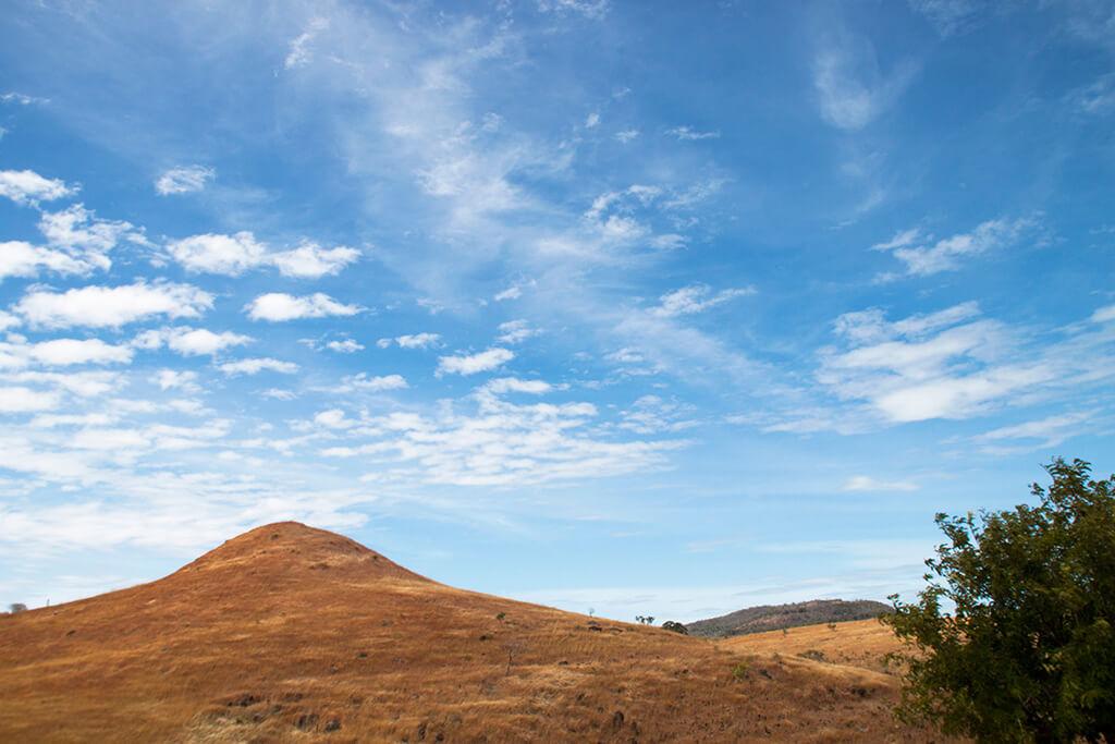 Madagaskar Landschaft Hügel